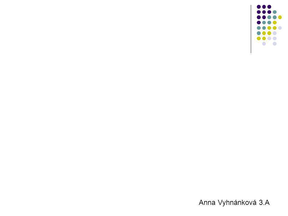 Anna Vyhnánková 3.A