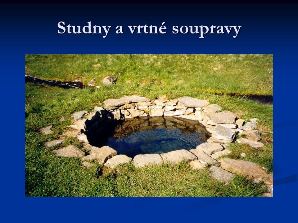 Obsah:-historie -druhy studen -místo pro studnu -stavba studny -vrtné soupravy