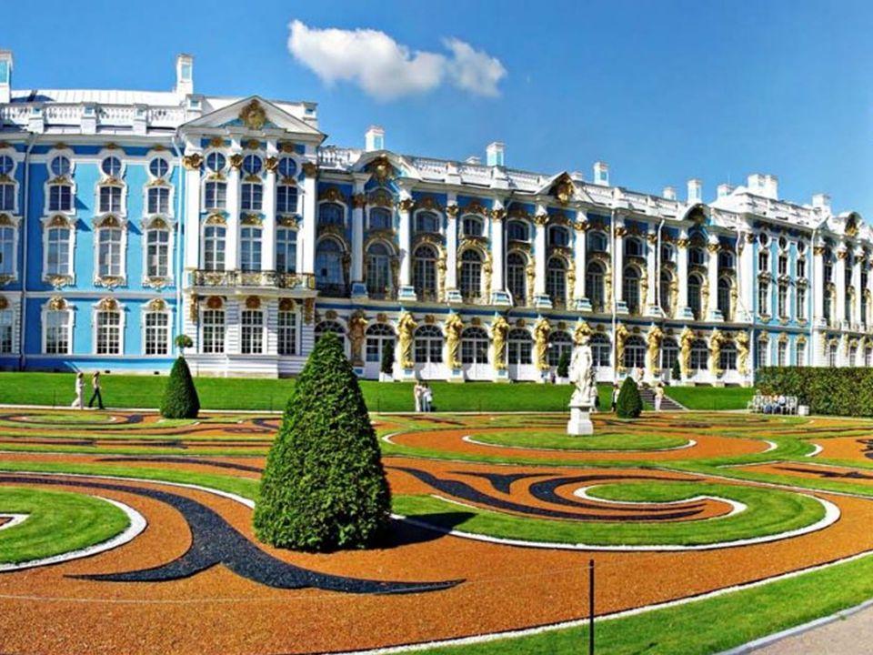 Kateřinský palác (Bolšoj Jekatěrininskij dvorec) Kateřinský palác byl založen v r.