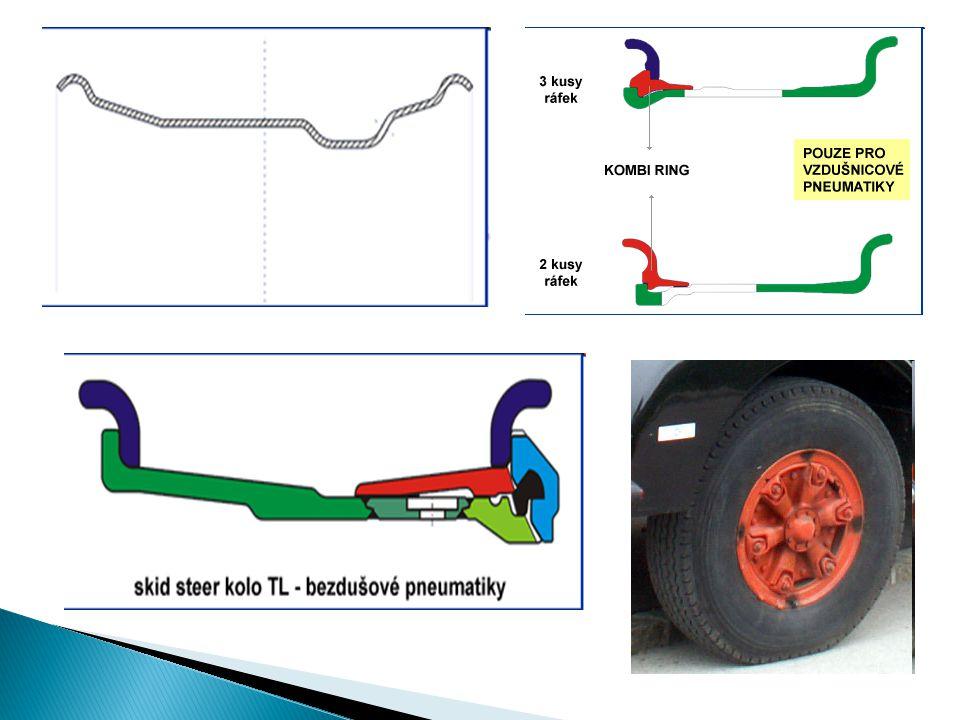  Dotažení matic kolových šroubů  Disková kola do kříže  Kola TRILEX postupně po obvodu  Při výměně – po 50 km dotáhnout