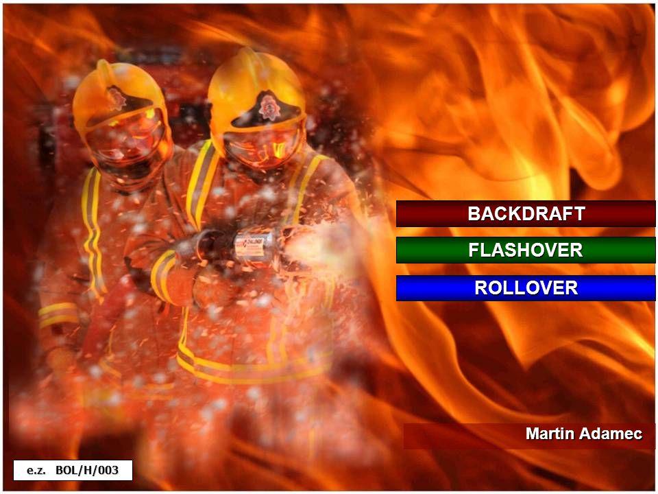 Po fází volného rozvoje požáru může dojít k takovému poklesu koncentrace kyslíku v místnosti, že není možné další plamenné hoření.