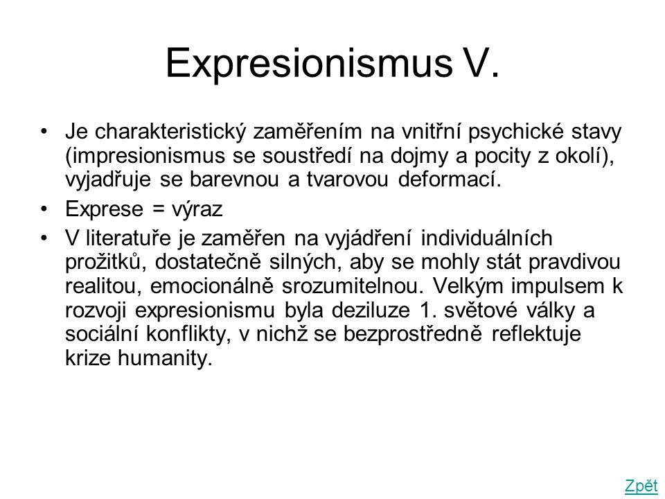 Expresionismus V.