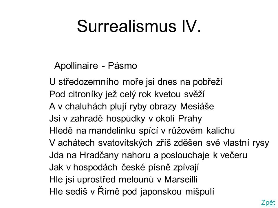 Surrealismus IV.
