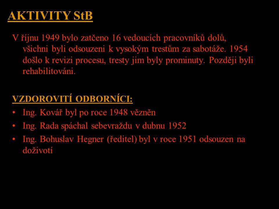 Uran – stát ve státě Vznikl zcela izolovaný státní podnik pro těžbu radioaktivních surovin na celém území Československa, který byl formálně zřízen če