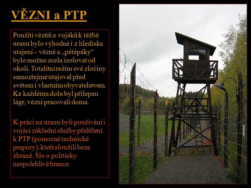 TNP - Tábory nucených prací •Podle Zákona 247 z roku 1948 o táborech nucené práce bylo možno se do TNP dostat i za přestupek, a to na dobu 3 měsíců až