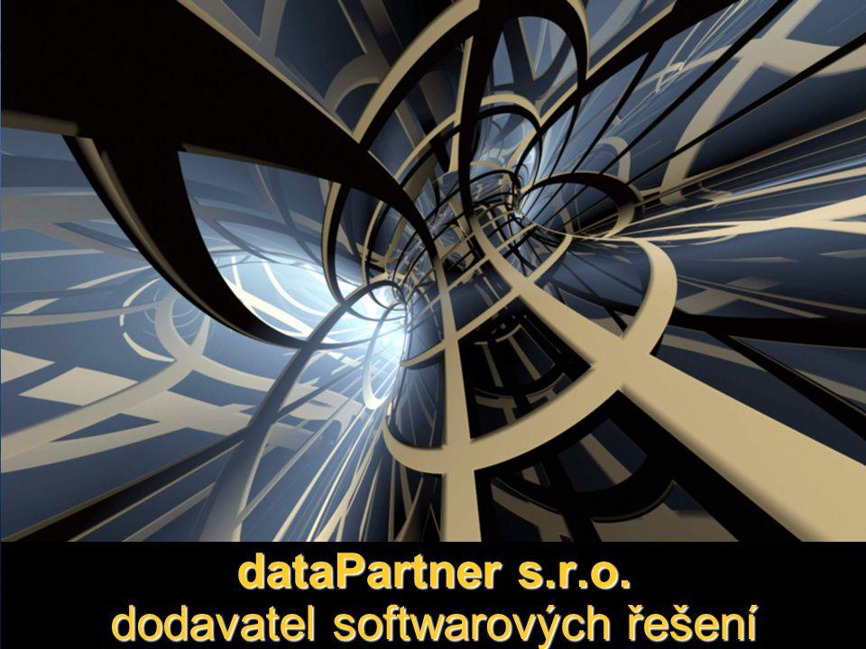 dataPartner s.r.o. dodavatel softwarových řešení