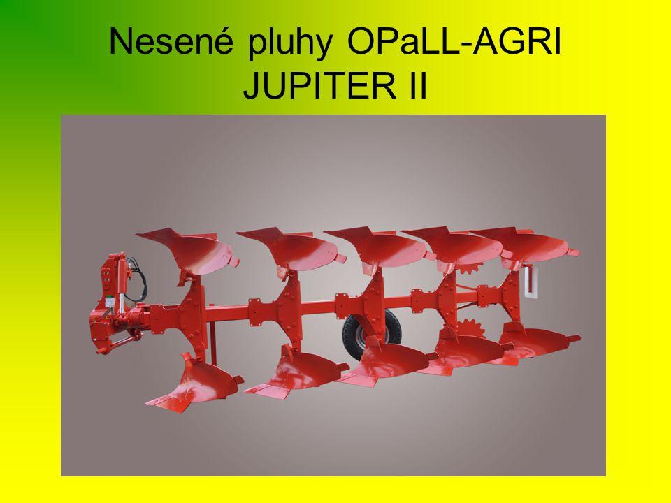 •Pluhy JUPITER II je možno osadit čtyřmi druhy orebních těles, tak aby bylo dosaženo co nejlepších výsledků orby v různých půdních podmínkách.