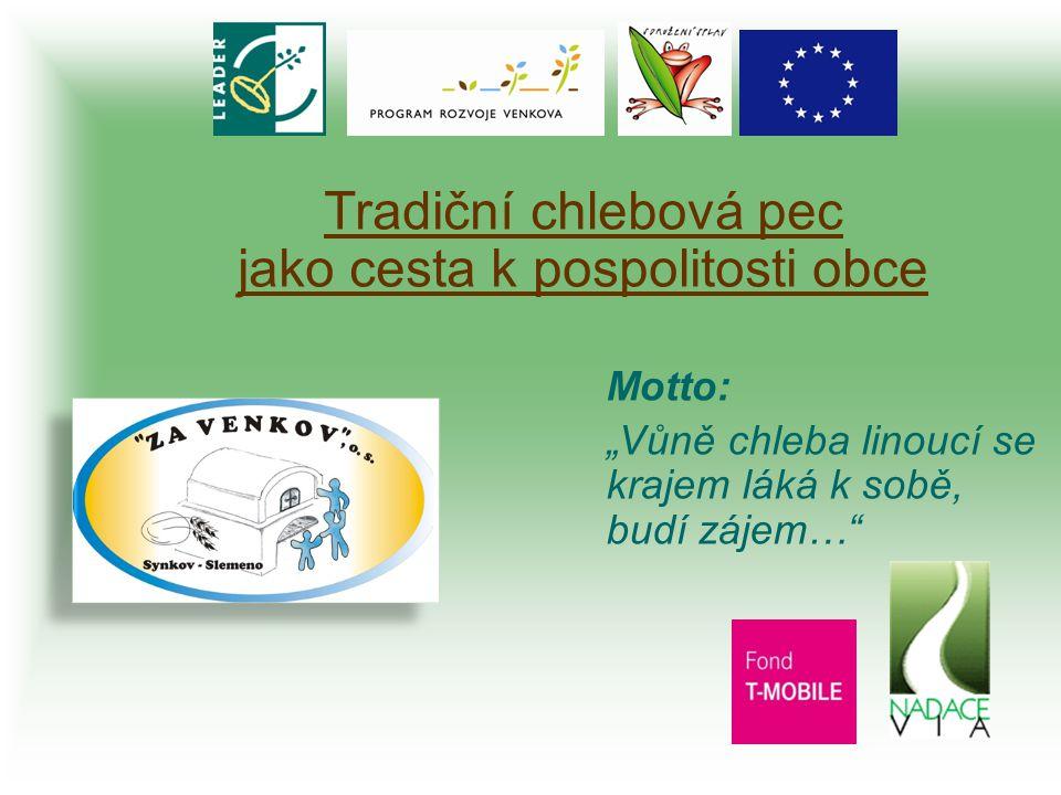 """Občanské sdružení """"ZA VENKOV , o.s., Synkov čp."""