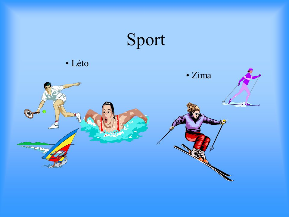 Sport • Léto • Zima