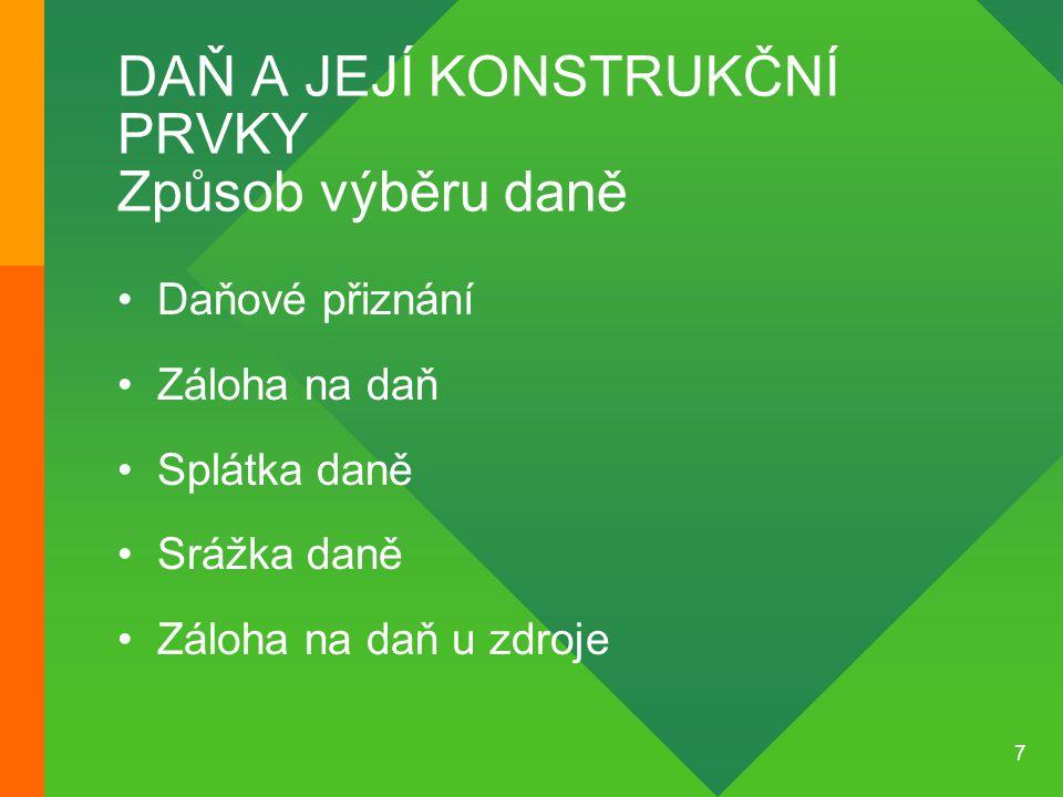 58 DAŇ Z PŘÍJMŮ PRÁVNICK.O.