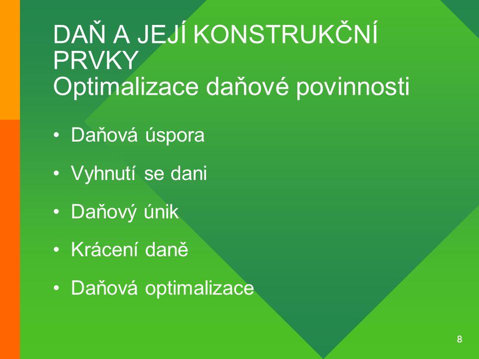 9 VEŘEJNÉ PŘÍJMY V ČR Veřejné příjmy nedaňové •Příspěvky do státních fondů (Fond pro podporu a rozvoj české kinematografie) •Správní poplatky •Soudní poplatky •Poplatek za užívání dálnic