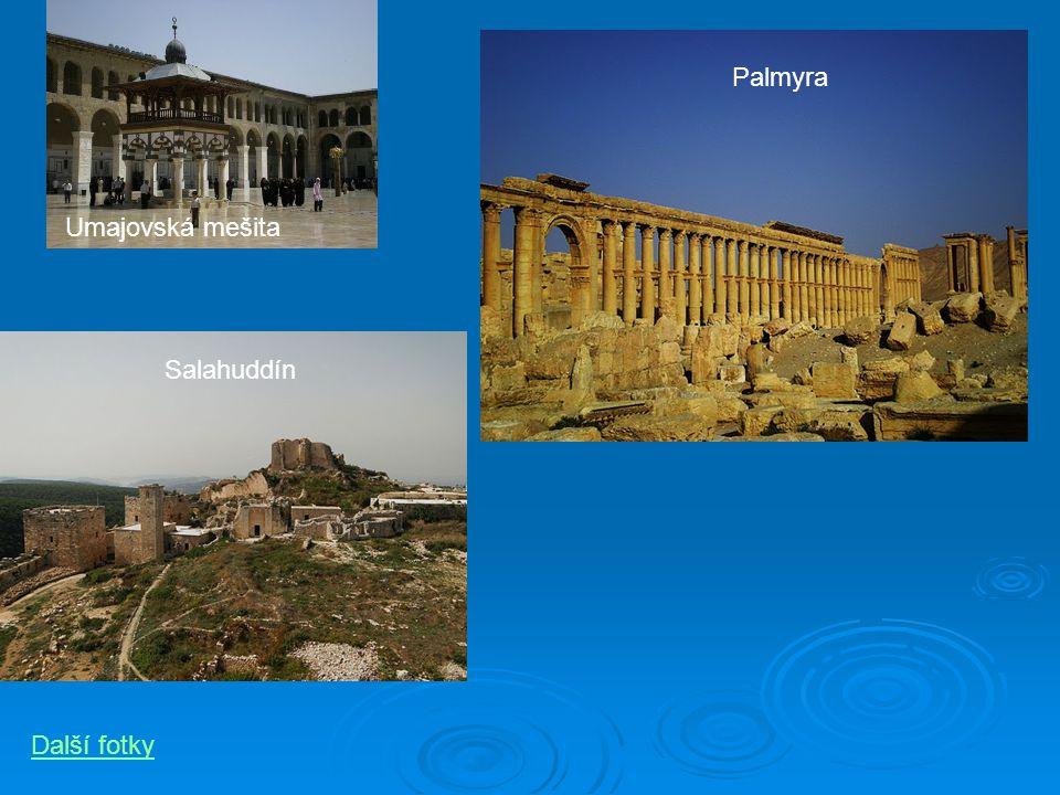 Umajovská mešita Palmyra Salahuddín Další fotky
