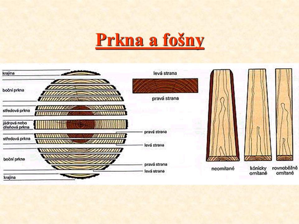 Deskové řezivo : •Z•Základní pilařský sortiment rozdělujeme podle tvaru příčného průřezu na řezivo : - d dd deskové (jeho šířka je větší než dvojnásob