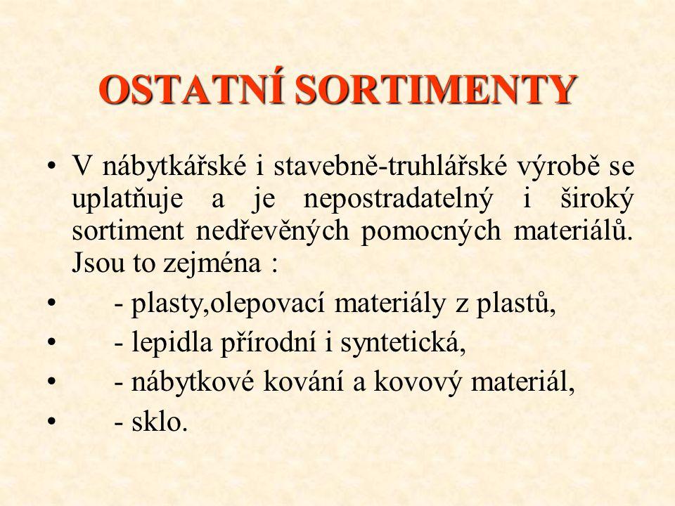 SORTIMENT STAVEBNĚ-TRUHLÁŘSKÉ VÝROBY •-•- výroba dřevěných oken a dveří a zárubní, •-•- výroba dřevěných chat •-•- výroba obkladů stěn a stropů, •-•-