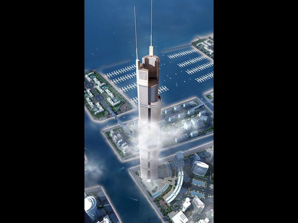 """Nedávno byla představena tato budova, jejíž věž bude mít výšku 1 200 metrů. Tím pádem bude o 30% vyšší než """"Burj Dubai"""" a třikrát vyšší než Empire Sta"""