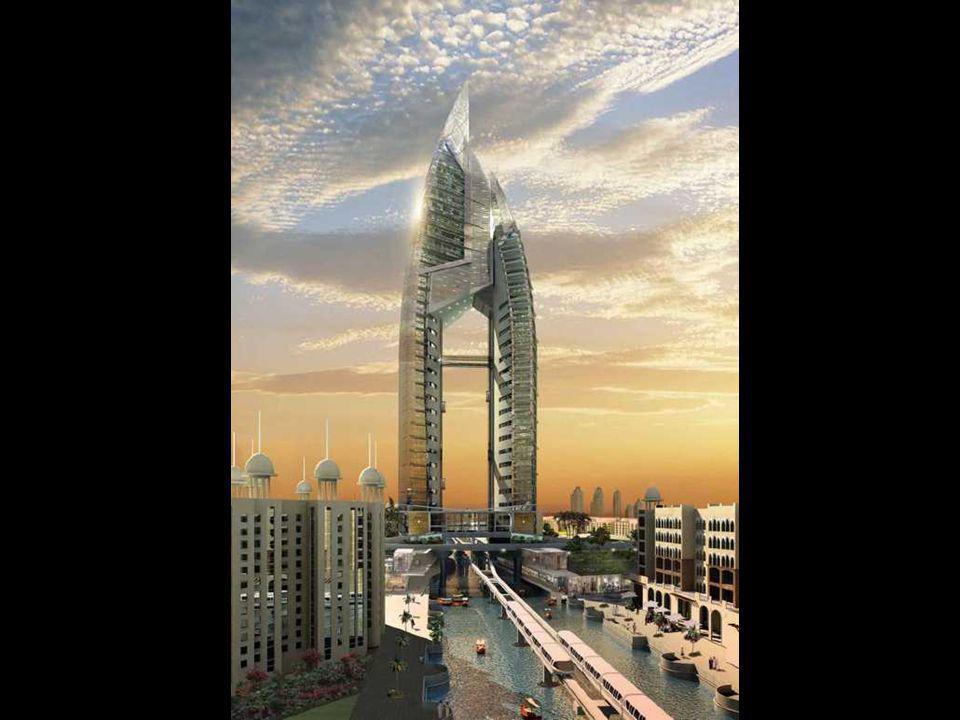 """The Trump International Hotel & Tower bude centrem na jedné skupině palmového ostrova, na palmě """"Jumeirah""""."""