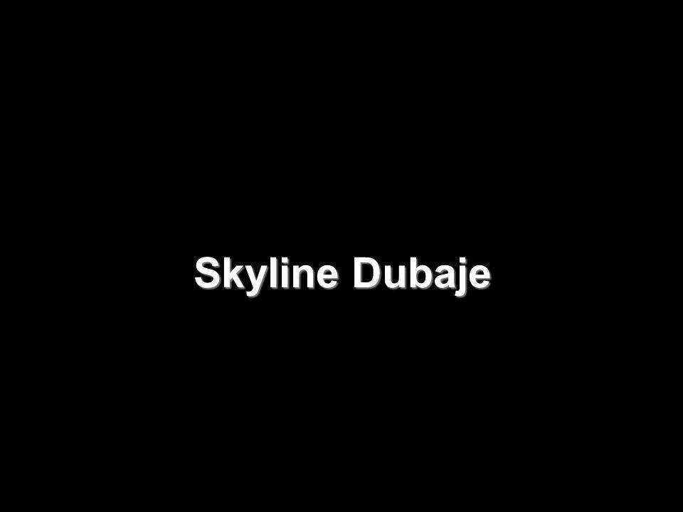 Hotel Burj al-Arab v Dubaji Nejvyšší hotelová budova světa.