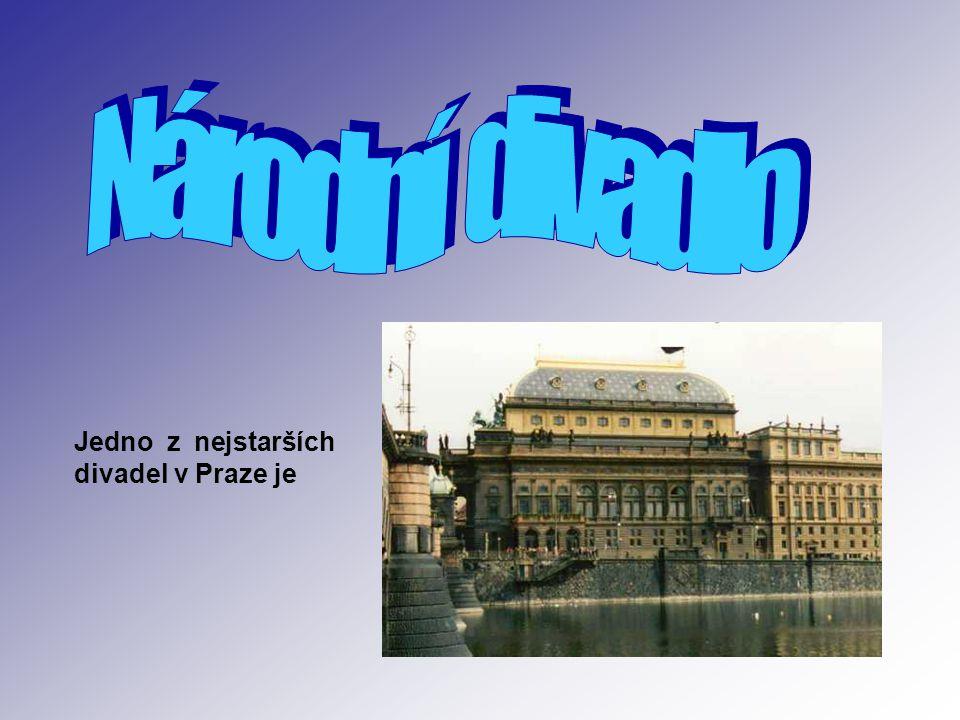 Jedno z nejstarších divadel v Praze je