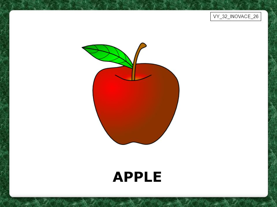 APPLE VY_32_INOVACE_26