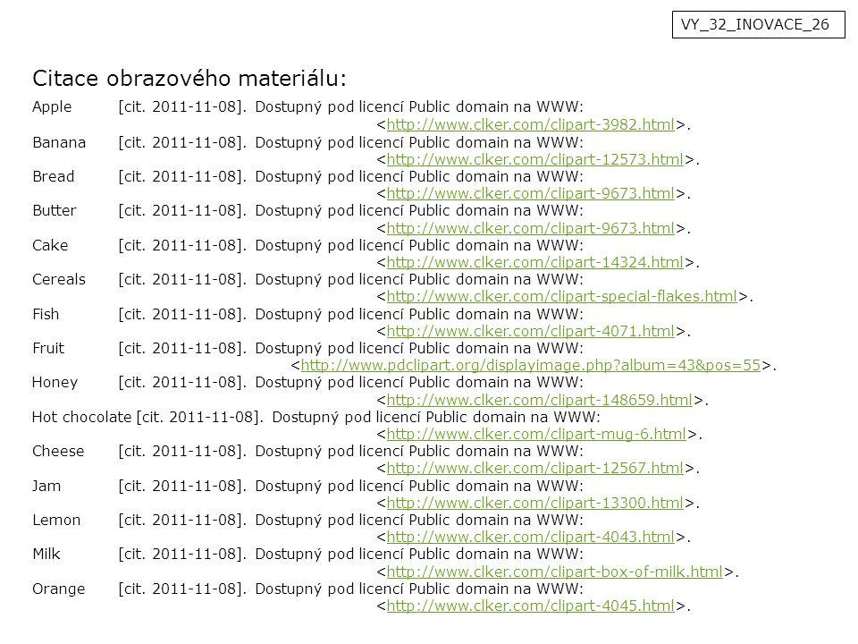 VY_32_INOVACE_26 Citace obrazového materiálu: Apple[cit.