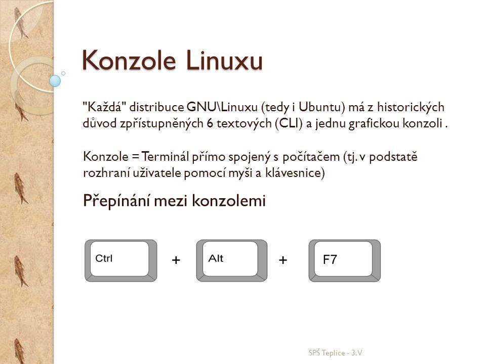 Konzole Linuxu