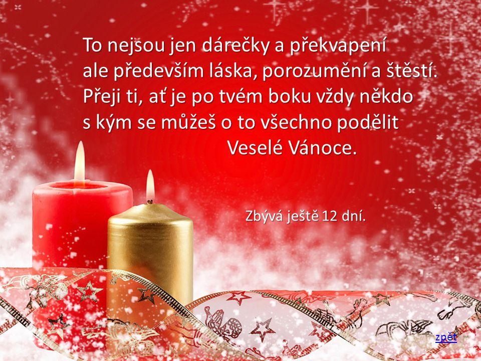 Tak zase po roce máme tu vánoce vánoční nálada všechny nás ovládá.
