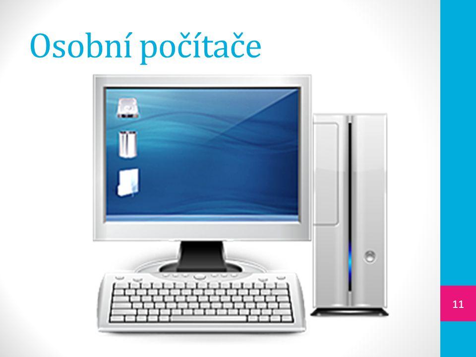 Osobní počítače 11
