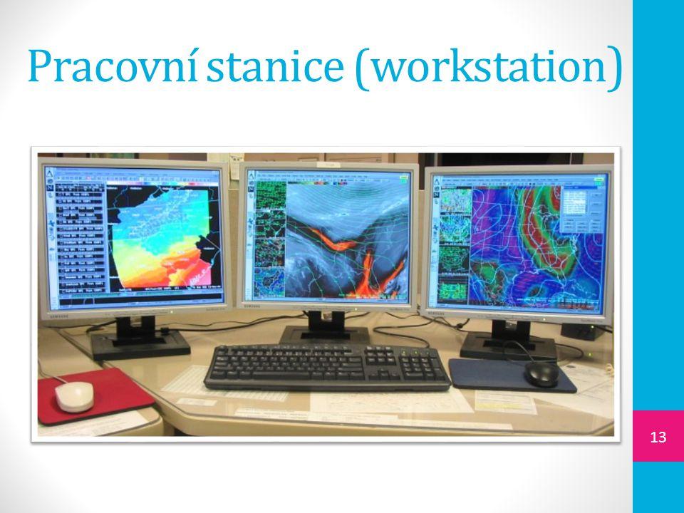 Pracovní stanice (workstation ) 13