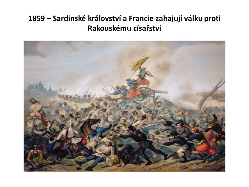 Bitva u Magenty a Solferina Habsburkové vyklízejí severní Itálii