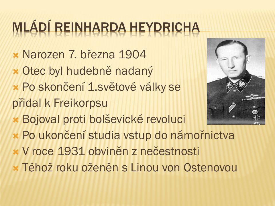  Narozen 7. března 1904  Otec byl hudebně nadaný  Po skončení 1.světové války se přidal k Freikorpsu  Bojoval proti bolševické revoluci  Po ukonč