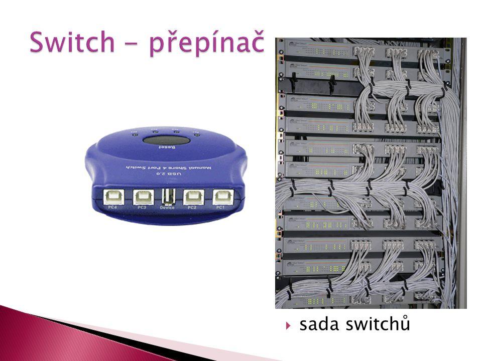  sada switchů