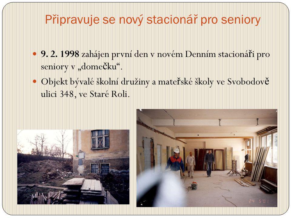 Slavnostní otevření charitního domu svaté Anežky  24.