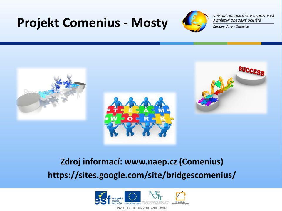 Zdroj informací: www.naep.cz (Comenius) https://sites.google.com/site/bridgescomenius/