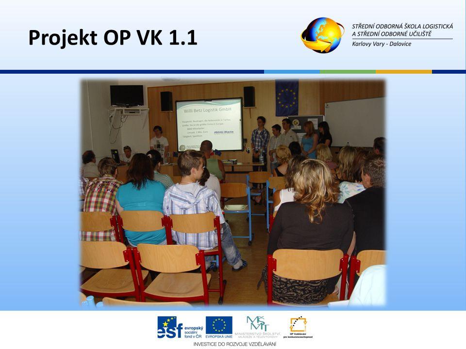 Projekt OP VK 1.1