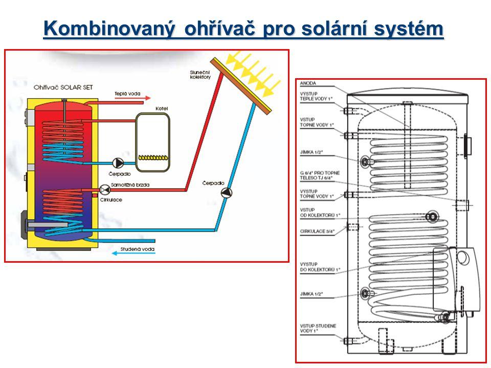 Kombinovaný ohřívač pro solární systém