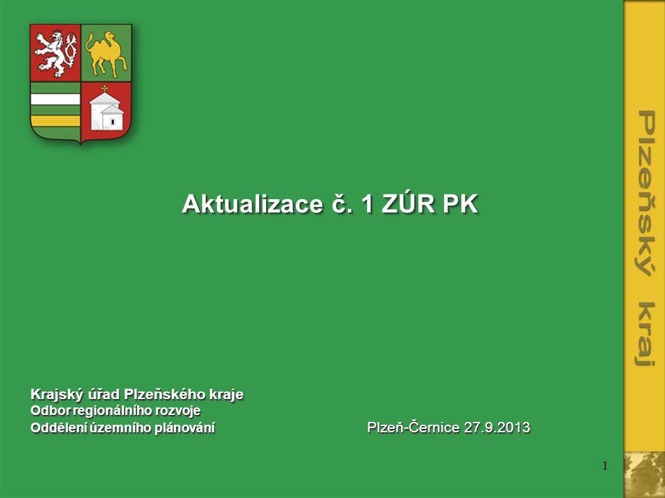 1 Aktualizace č.1 ZÚR PK Aktualizace č.