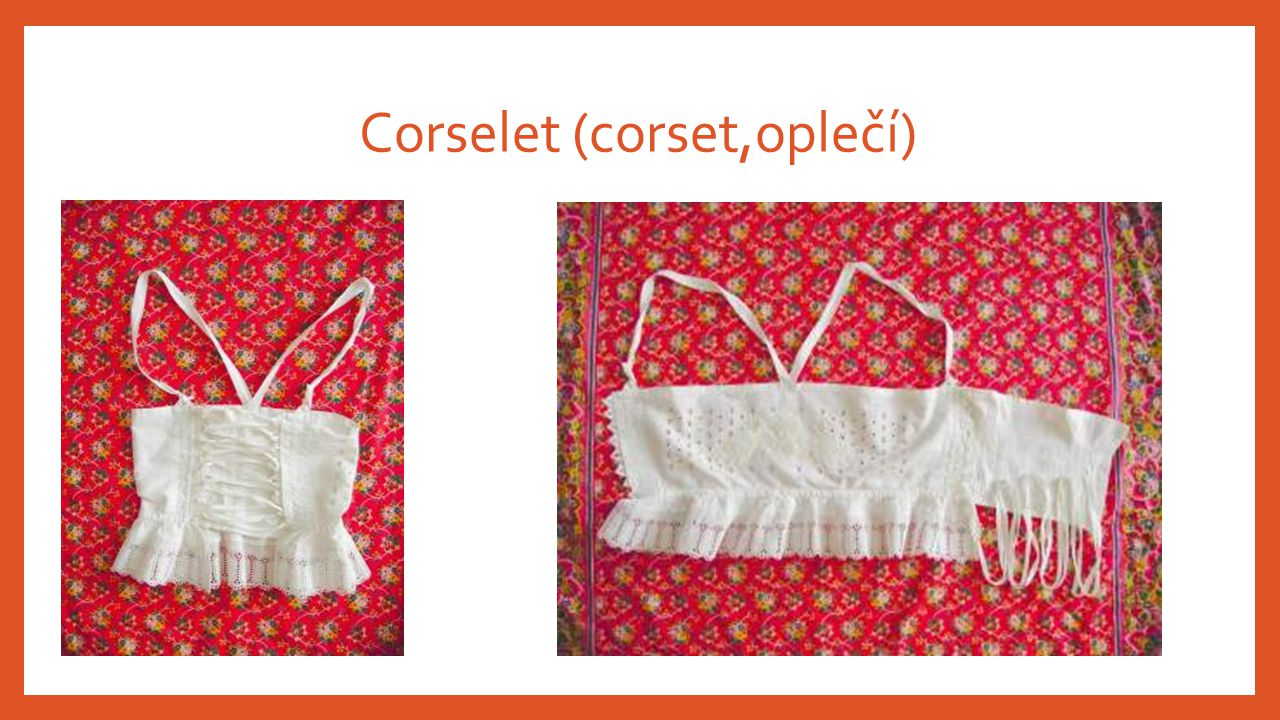 Corselet (corset,oplečí)