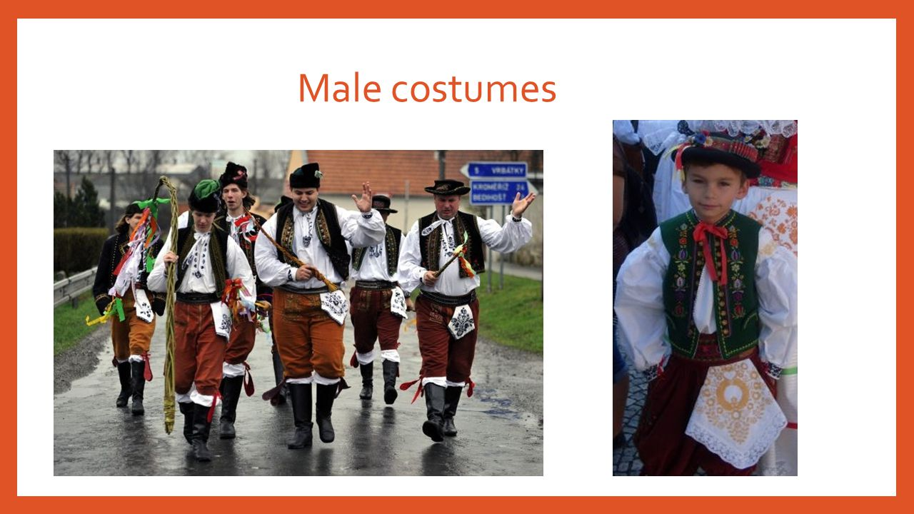 Male costumes