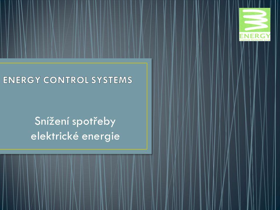 Snížení spotřeby elektrické energie