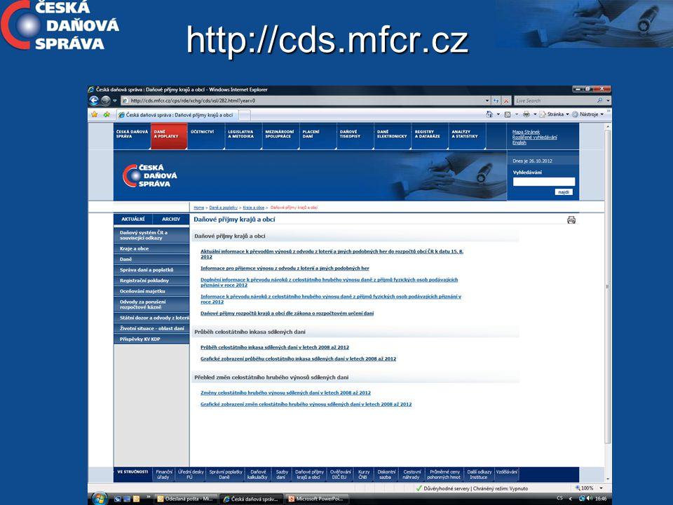 http://cds.mfcr.cz