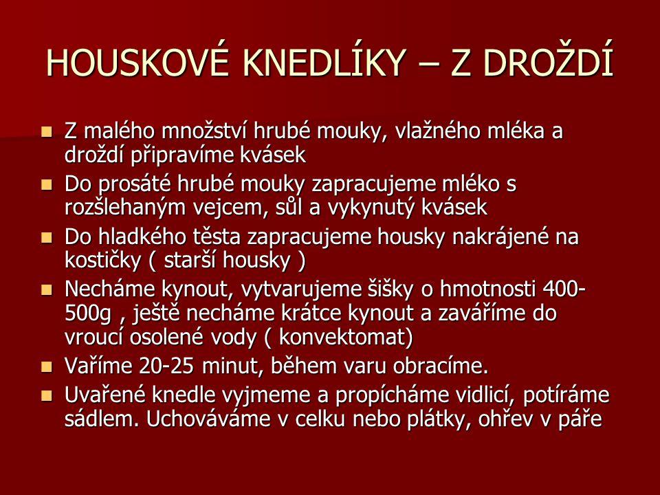 Vařený hrách  Viz.