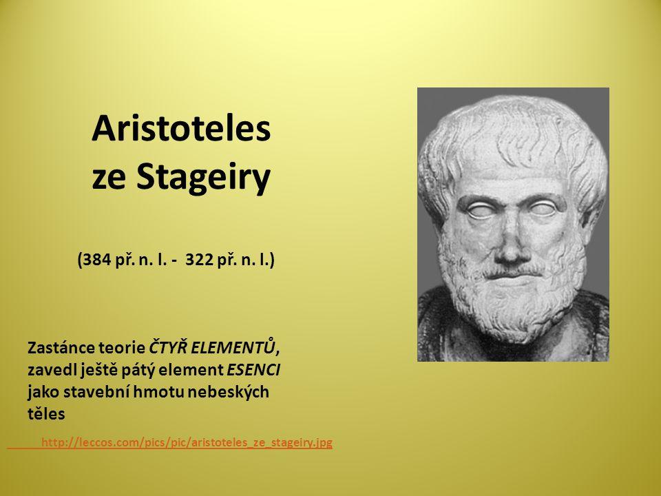 Aristoteles ze Stageiry (384 př.n. l. - 322 př. n.