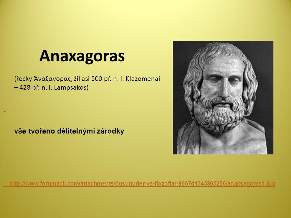 Anaxagoras http://www.forumacil.com/attachments/dusunurler-ve-flozoflar-8667d1345805256/anaksagoras1.jpg (řecky Ἀναξαγόρας, žil asi 500 př.