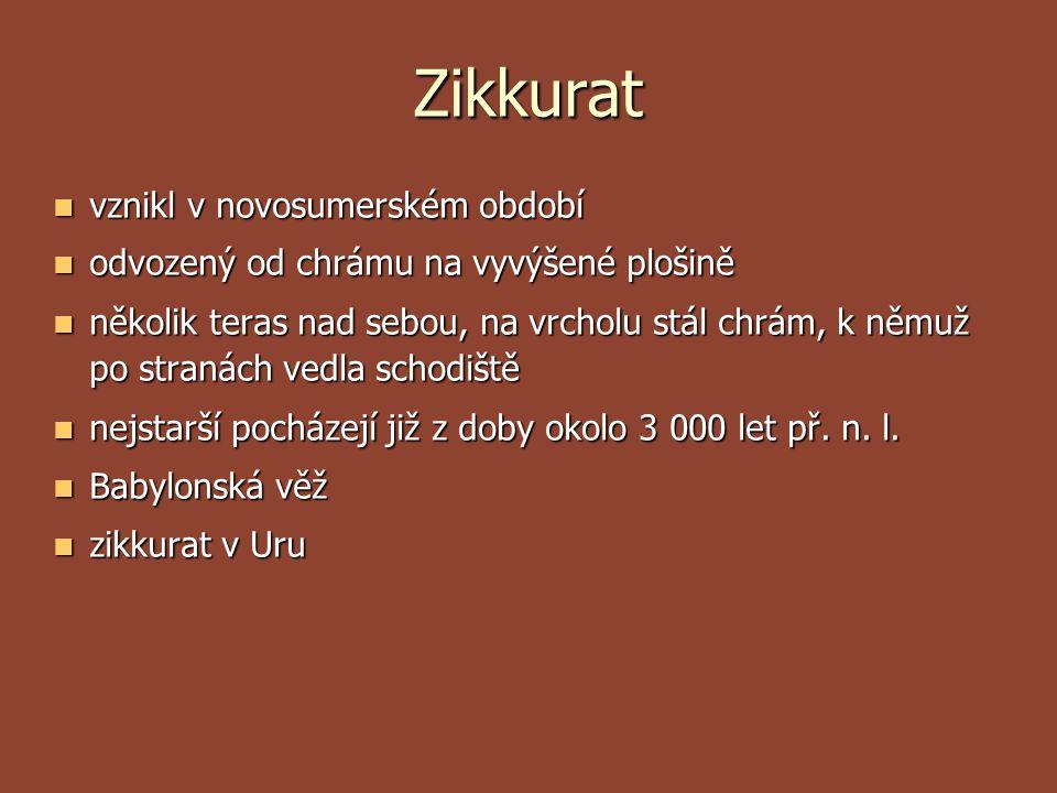 Sumerské období  hl.