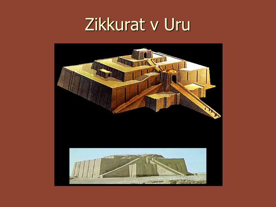  Nejpřístupnější a zároveň nejstarší sumerské město se jmenovalo Ur.