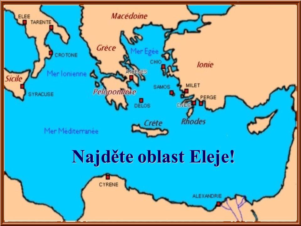 Najděte oblast Eleje!