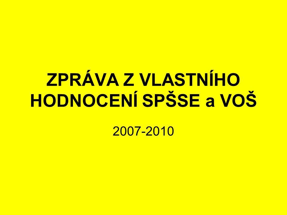 ZPRÁVA Z VLASTNÍHO HODNOCENÍ SPŠSE a VOŠ 2007-2010