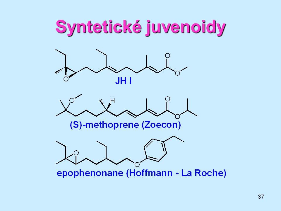 37 Syntetické juvenoidy