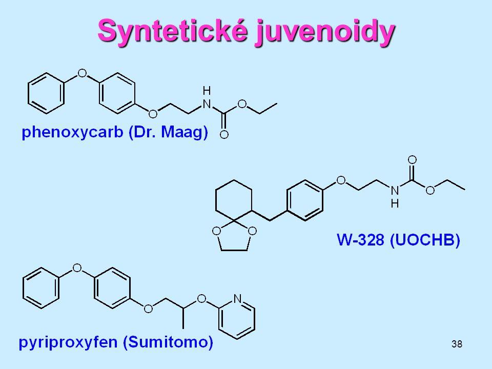 38 Syntetické juvenoidy