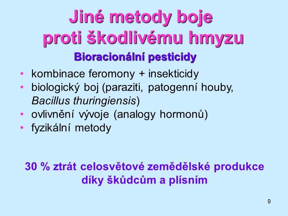 10 Insekticidy - přírodní vzory nikotin •Nicotiniana ssp.